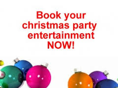 book christmas entertainment now
