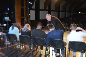 student union comedy hypnotist
