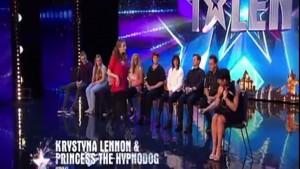 Britain's got tallent, Krystina Lennon Hypnodog