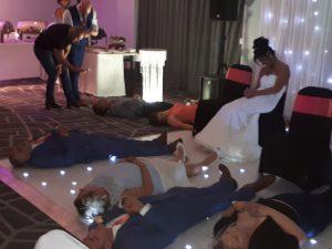 wedding entertainment hypnotist